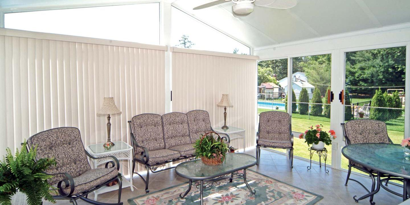 5 Window Treatment Ideas For Your Sunroom Patio Solutions