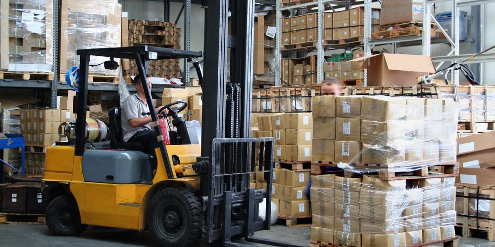 Why You Should Choose Crown® Forklifts - AJ Jersey, Inc.