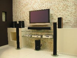 home audio installation